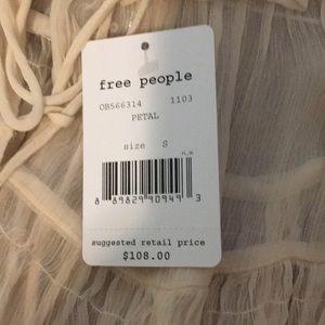 Free People Tops - Free People Sheer Petal Blouse